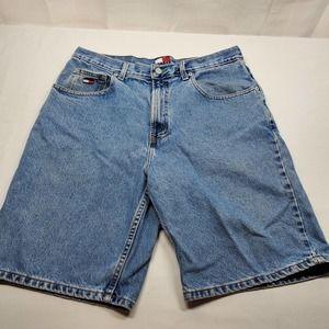 Vintage 90's Tommy Hilfiger Denim Shorts Men's 34